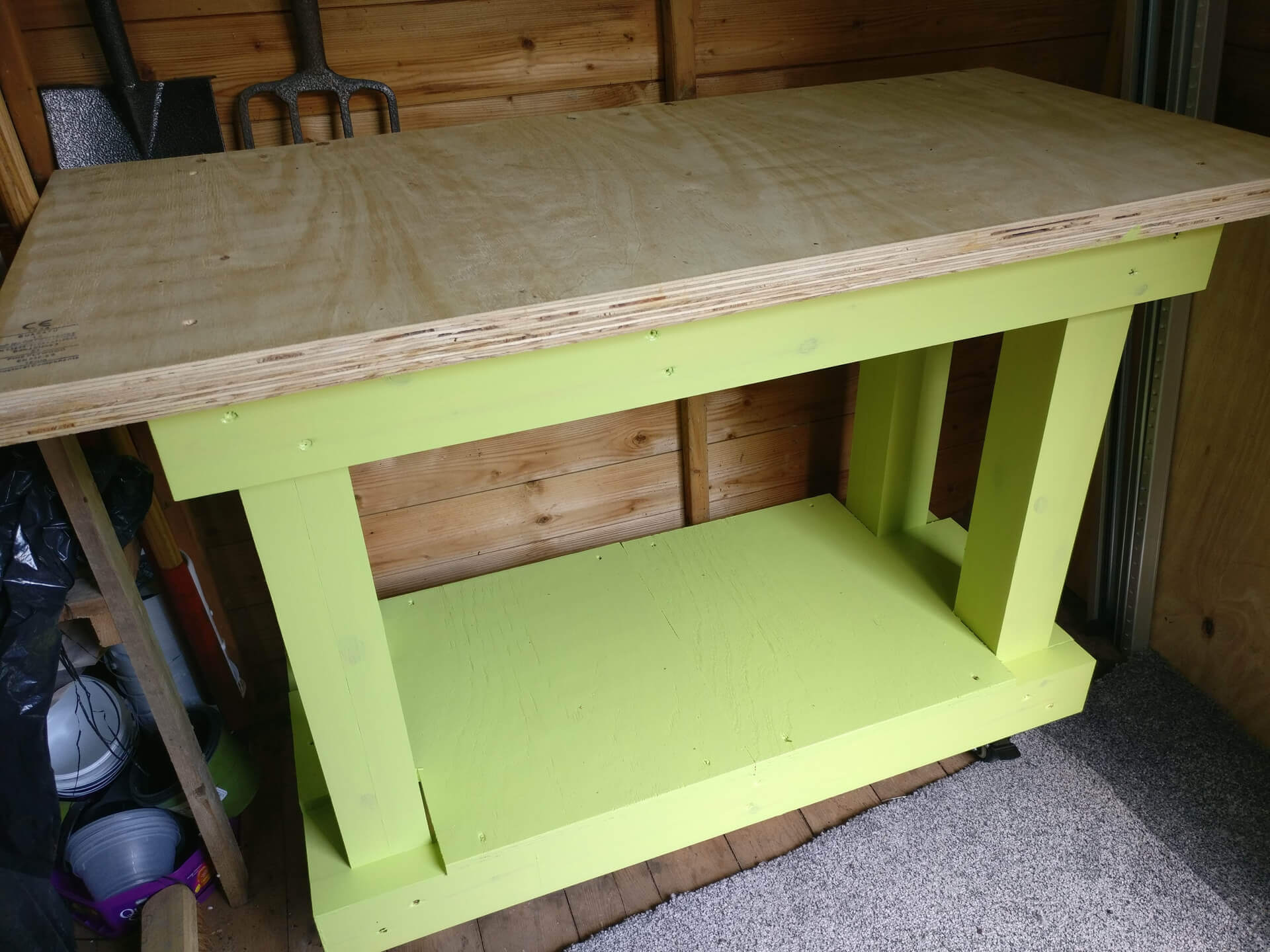 I built a workbench